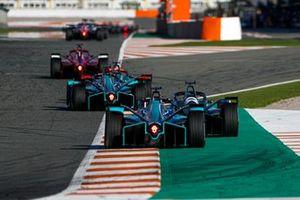 Sam Bird, Panasonic Jaguar Racing, Jaguar I-Type 5, Oliver Turvey, NIO 333, NIO 333 001, Mitch Evans, Panasonic Jaguar Racing, Jaguar I-Type 5