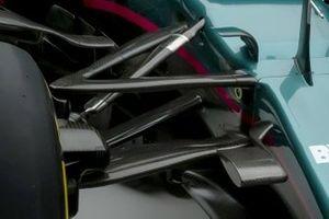 Aston Martin AMR21 detail