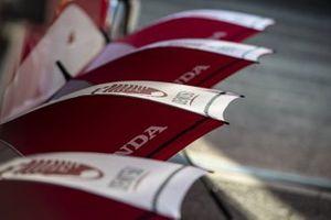 Des parasols aux couleurs de Honda Asia