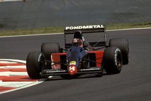 Olivier Grouillard, Fondmetal Fomet-1 Ford