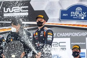Podium: Ott Tänak, Hyundai Motorsport