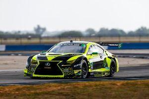 #12 Vasser Sullivan Lexus RC F GT3, GTD: Robert Megennis, Zach Veach, Frankie Montecalvo