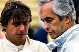 Roger Penske con Rick Mears