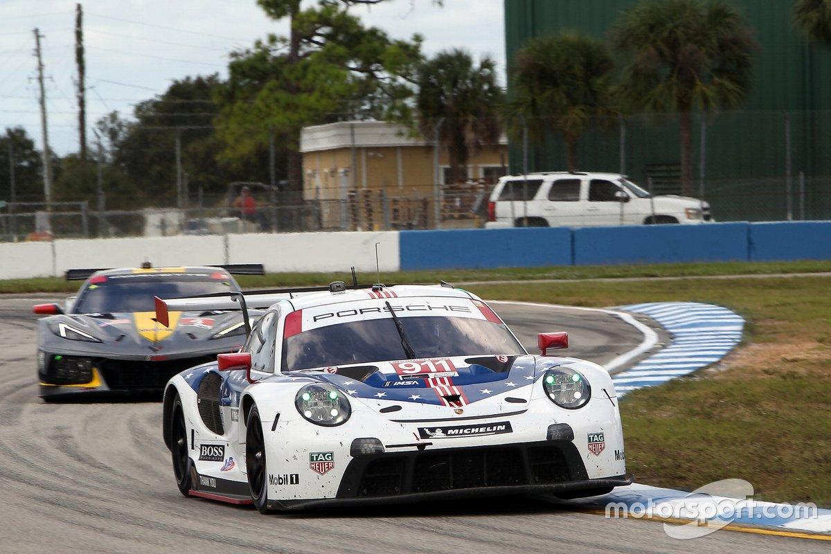 #911 Porsche GT Team Porsche 911 RSR - 19, GTLM: Nick Tandy, Fred Makowiecki, Earl Bamber