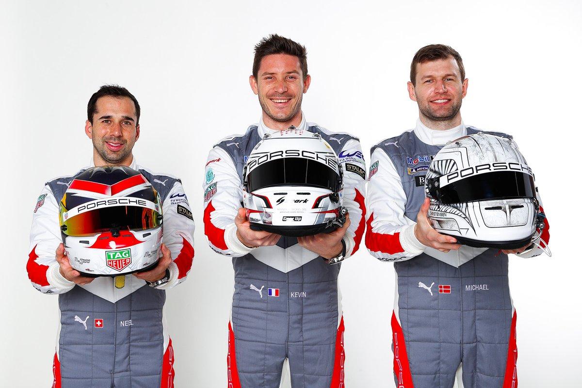 Neel Jani, Kévin Estre, Michael Christensen, Porsche GT Team