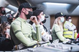 Jenson Button, JBXE Extreme-E Team, and Jamie Chadwick, Veloce Racing