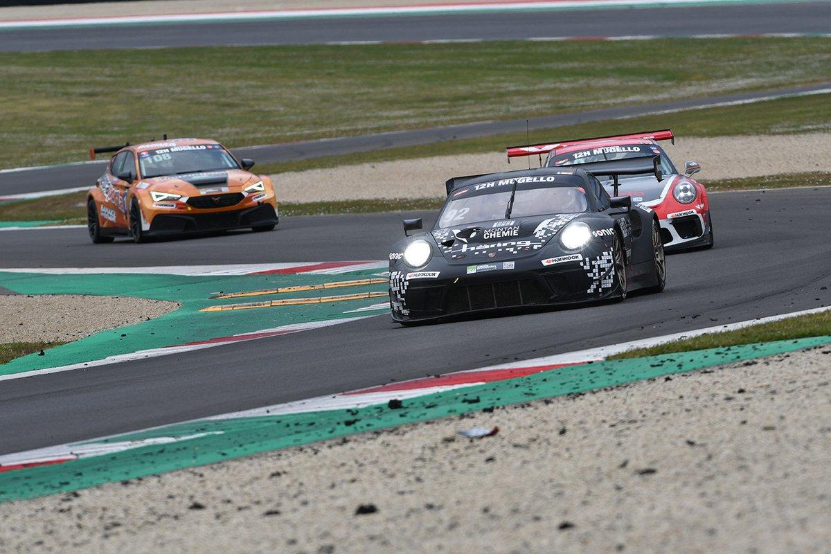 "#92 Herberth Motorsport: Jürgen Häring, ""Bobby Gonzales"", Stefan Aust, Marco Seefried, Porsche 911 GT3 R"