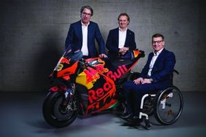 Stefan Pierer, Hubert Trunkenpolz, Pit Beirer, Red Bull KTM Factory Racing