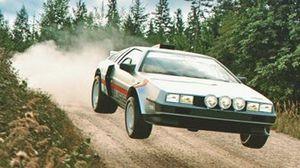 Diseño del Delorean Grupo B para el WRC