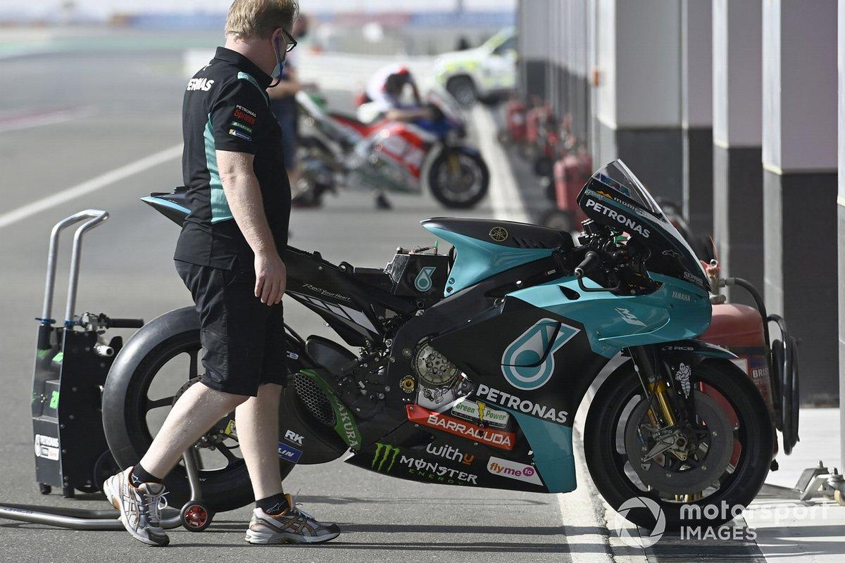 Petronas Yamaha SRT bike