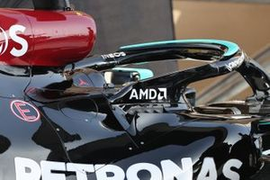 Mercedes W12 cooling detail