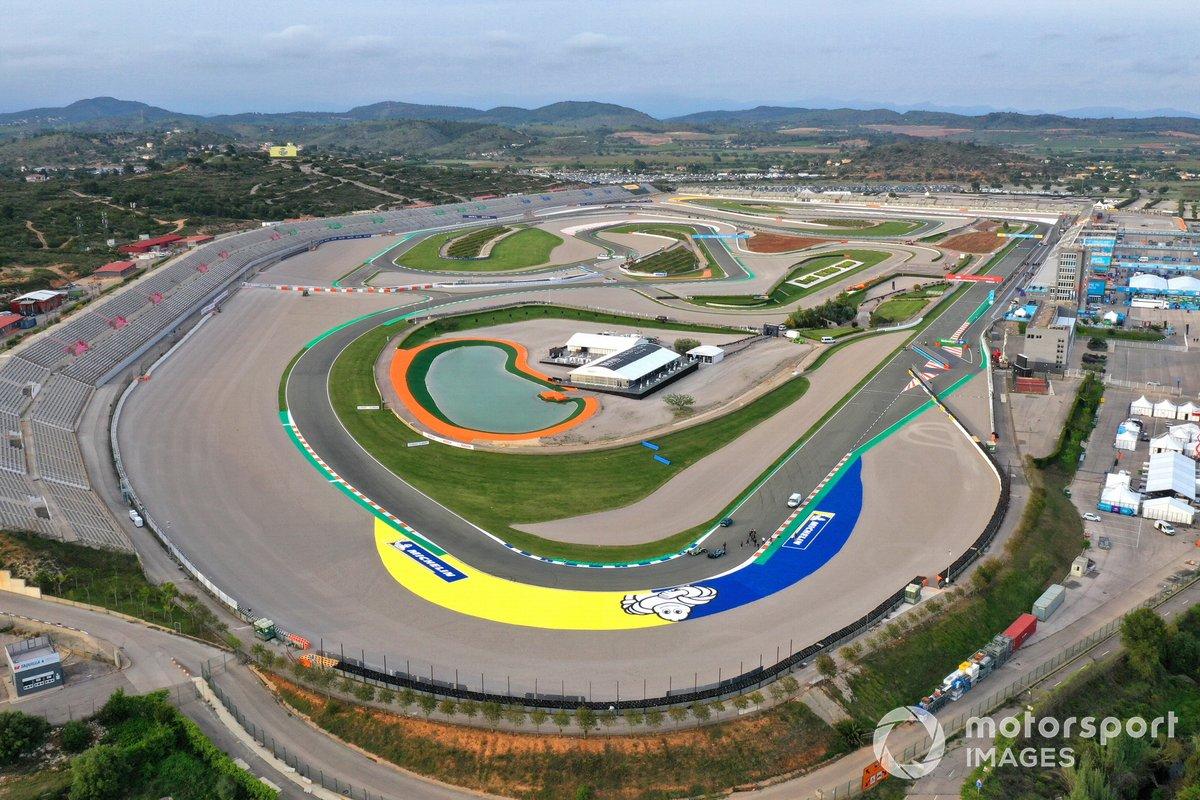 Imagen aérea del circuito Ricardo Tormo de Cheste