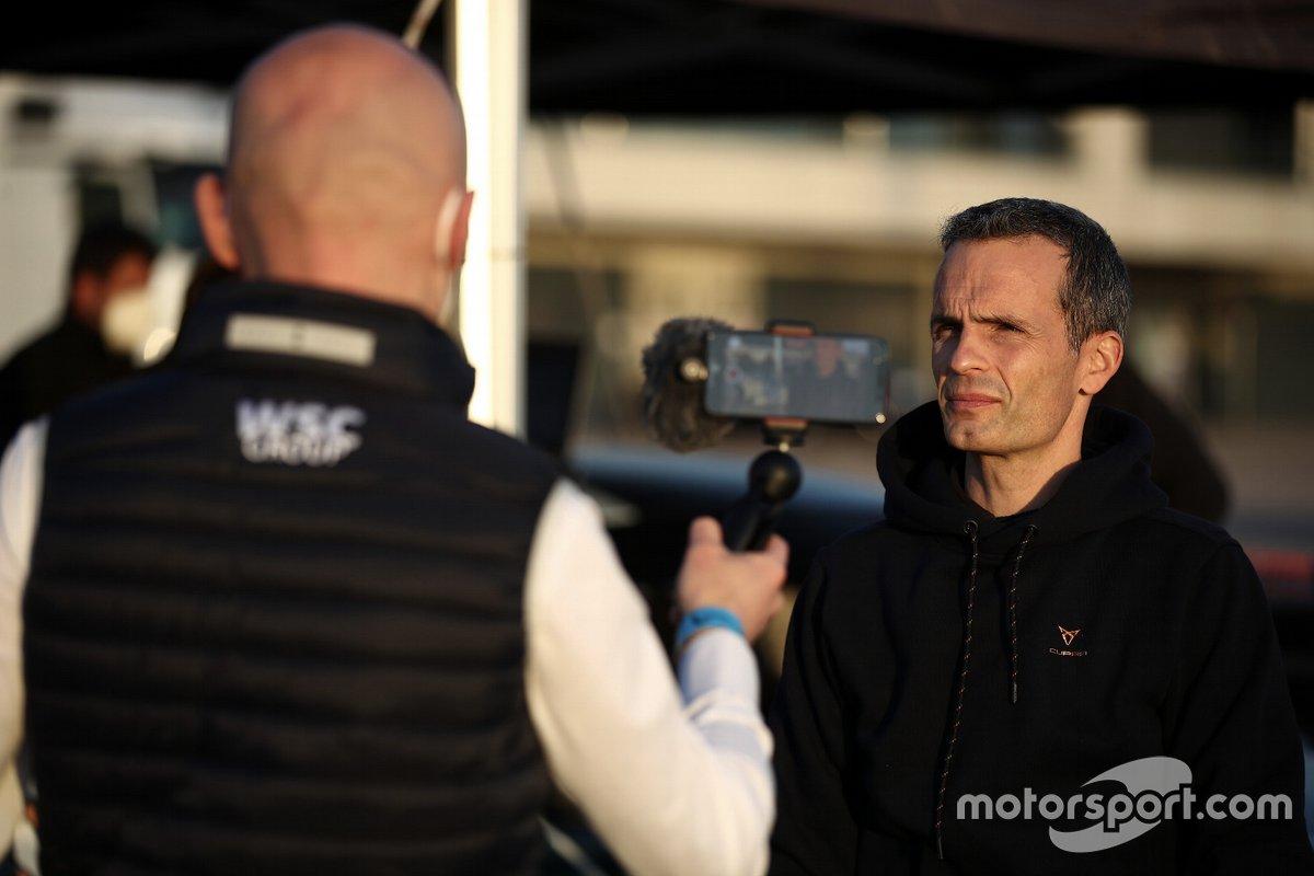 Xavi Serra, Cupra Racing project leader