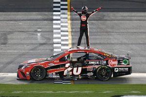 Race winner Christopher Bell, Joe Gibbs Racing, Toyota Camry