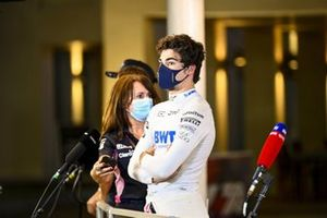 Lance Stroll, Racing Point parla con i media