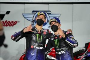 Maverick Vinales, Yamaha Factory Racing, Fabio Quartararo, Yamaha Factory Racing