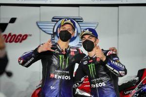 Maverick Vinales, Yamaha Factory Racing, Fabio Quartararo, Yamaha Factory Racing