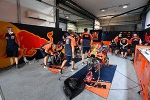 Red Bull KTM-garage
