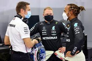 Lewis Hamilton, Mercedes, et Valtteri Bottas, Mercedes