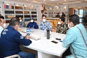 Galang Hendra, Ten Kate Yamaha dan Bambang Soesatyo, Ketua Umum IMI Pusat