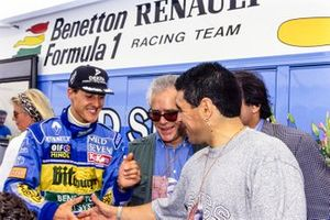 Michael Schumacher, Benetton with Diego Maradona