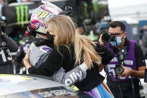 Jimmie Johnson, Hendrick Motorsports, mit Ehefrau Chandra