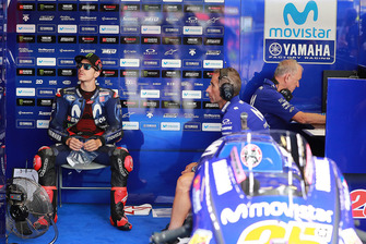 Maverick Viñales, Yamaha Factory Racing, mit Ramon Forcada