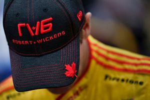 Ryan Hunter-Reay, Andretti Autosport Honda met Robert Wickens-pet