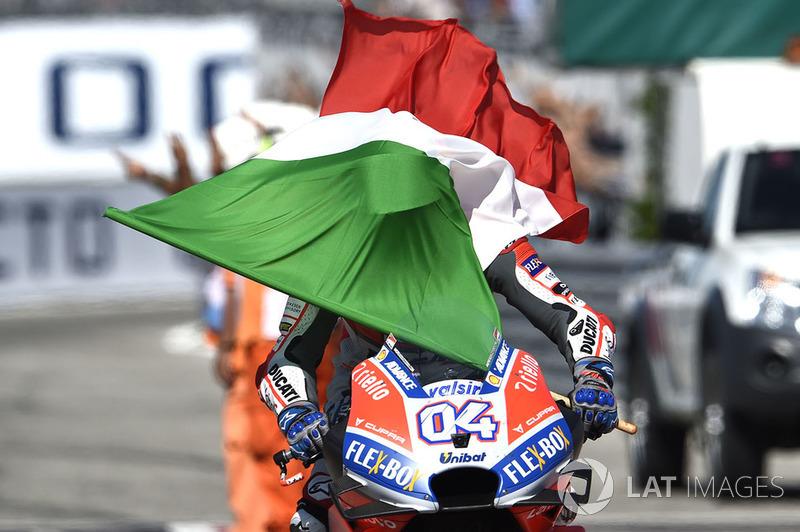 MotoGP San Marino: Andrea Dovizioso, Ducati Team