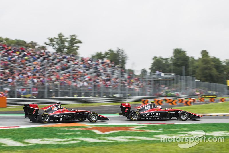 Ilott est parvenu à prendre la troisième place à Hubert en fin de course
