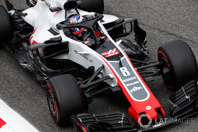 Romain Grosjean - Haas F1 Team - 9