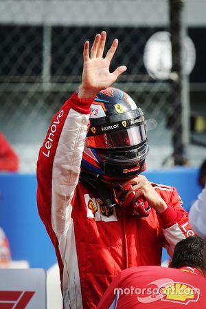 Polesitter Kimi Raikkonen, Ferrari SF71H