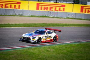 #888 GruppeM Mercedes: #888 AMG GT3: Raffaele Marciello, Maro Engel, Tristan Vautier