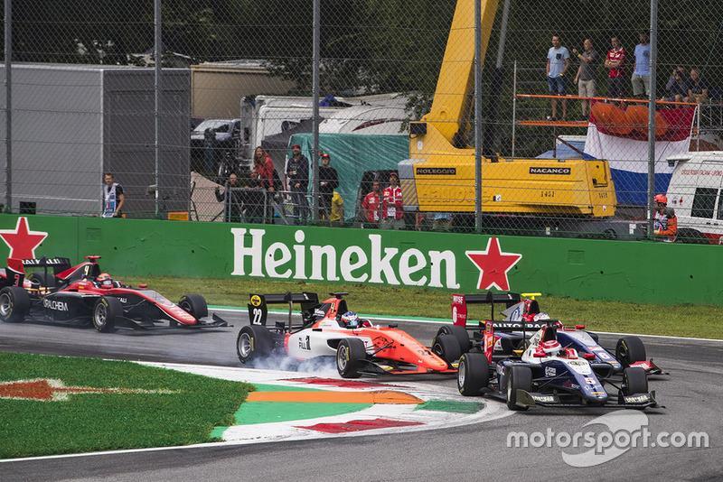 Piquet devançait Alesi et Verschoor au départ