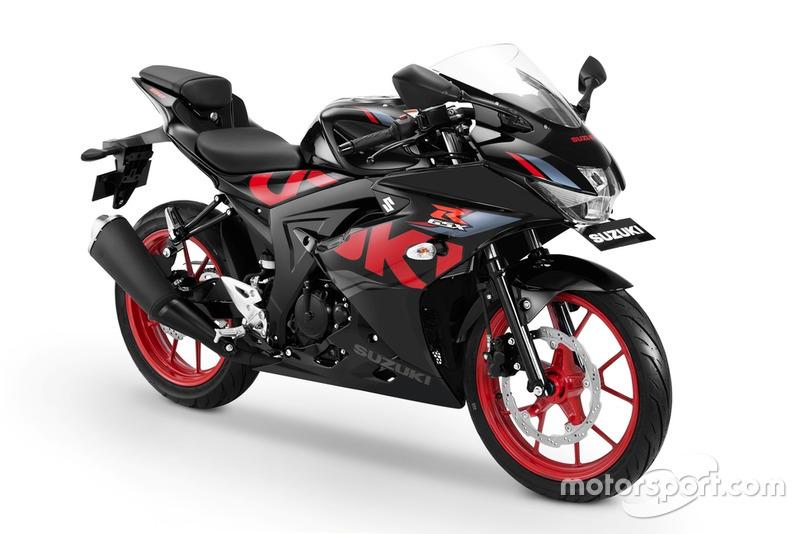GSX-R150 Keyless Ignition - Titan Black-Rouge Red CW