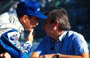 Nigel Mansell, Williams met FIA-racestarter Roland Bruynserede