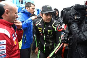 Johann Zarco, Monster Yamaha Tech 3, leaving Safety commission meeting