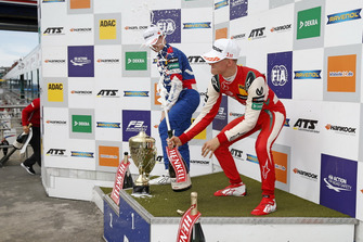 Podium: Race winner Mick Schumacher, PREMA Theodore Racing Dallara F317 - Mercedes-Benz, second place Robert Shwartzman, PREMA Theodore Racing Dallara F317 - Mercedes-Benz