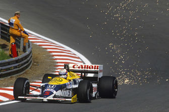 Nigel Mansell, Williams FW11 Honda