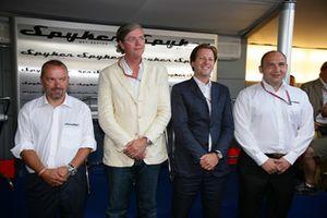 Mike Gascoyne, Victor Muller, Michiel Mol e Colin Kolles, Spyker MF1 Racing