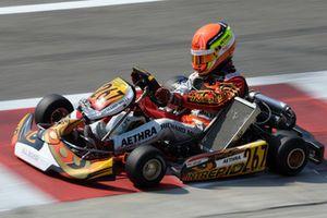Charles Leclerc en CIK-FIA