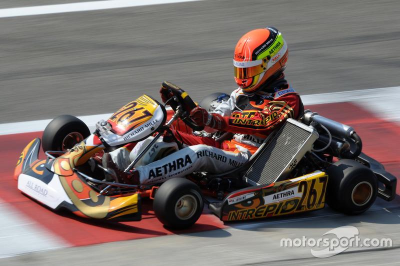 Primórdios da carreira: kart