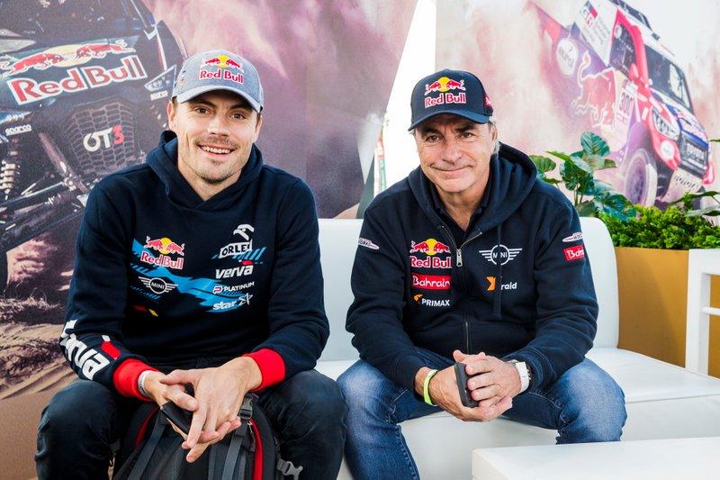 Jakub Przygonski, Orlen X-Raid Mini Team, #305 JCW X-Raid Team: Carlos Sainz