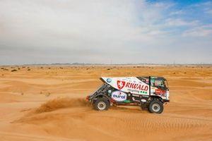 #507 Riwald Dakar Team Renault: Gert Huzink, Rob Buursen, Martin Roesink