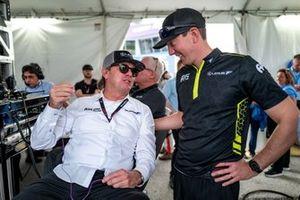 #14 AIM Vasser Sullivan Lexus RC-F GT3, GTD: Jimmy Vasser, Kyle Busch