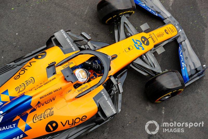 7. Карлос Сайнс, McLaren MCL34 – 1:16.014