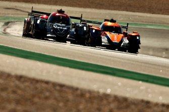 #22 United Autosports Ligier JSP217 Gibson: Philip Hanson, Filipe Albuquerque, #26 G-Drive Racing Aurus 01 Gibson: Roman Rusinov, Job Van Uitert, Jean-Eric Vergne