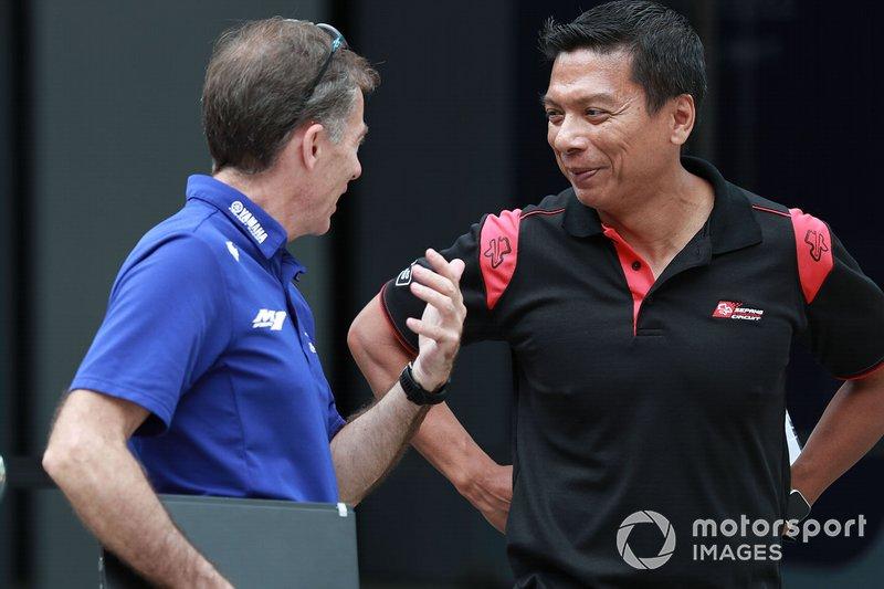 Lin Jarvis, Yamaha Factory Racing, Razlan Razali, Petronas Yamaha SRT