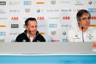 Roger Griffiths, Team Principal, BMW i Andretti Motorsport, Mark Preston, Team Principal, DS Techeetah in conferenza stampa