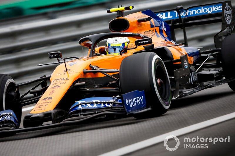 10º - Lando Norris, McLaren MCL34